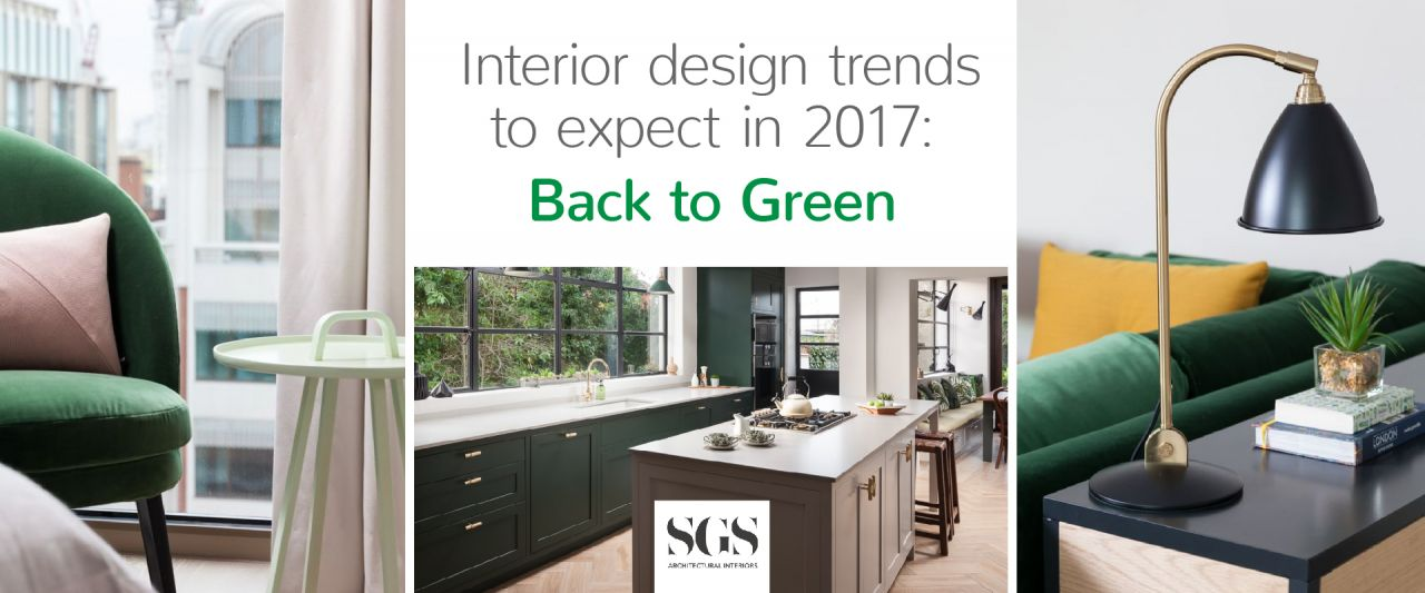 Interior design trends to expect in 2017: Back to Green