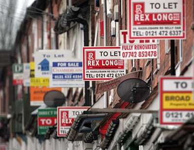 A shortage in home lets is driving up rental prices in Britain to record levels