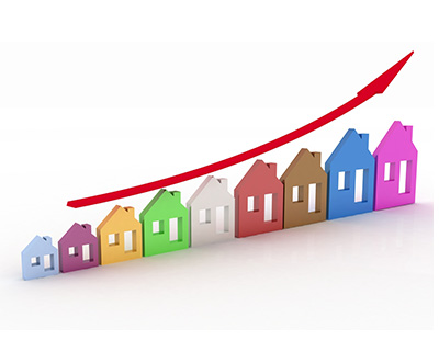 Property prices set to rise by 4.8% over the next six months