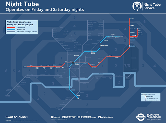Night Tube to drive up London rents and property prices