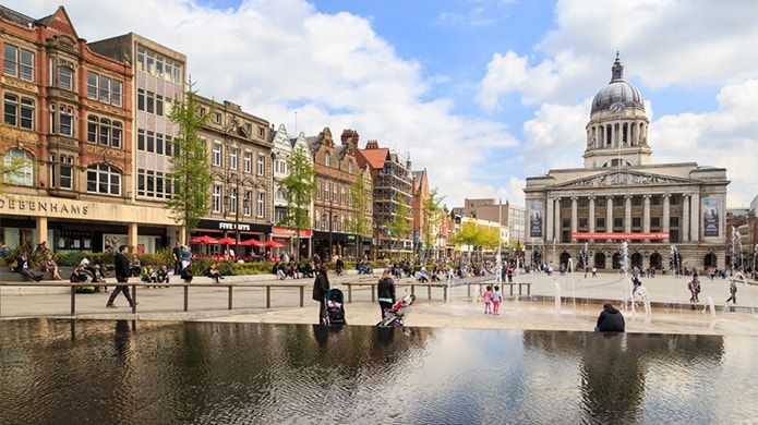 Why Nottingham appeals to buy-to-let investors