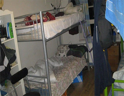 Overcrowded: 28 tenants forced to share one bathroom