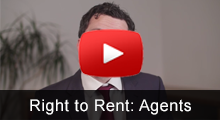Can I ask an agent to handle Right to Rent checks?
