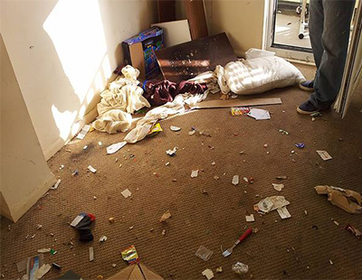 Tenant causes thousands of pounds worth of damage