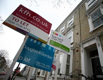 Rents rise at a slower pace