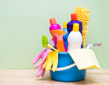What aspects of the home are causing concern when it comes to cleaning?