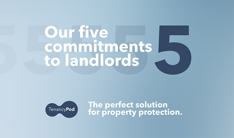 Our five commitments to landlords